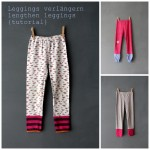 Leggings verlngern - lengthen leggings tutorial
