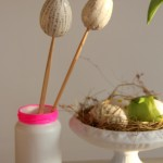 DIY beklebtes Ei - DIY laminated egg