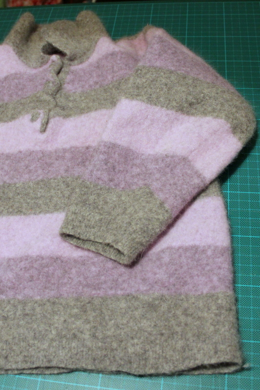 Wollpullover zum Filzen - woollen sweater to make felt