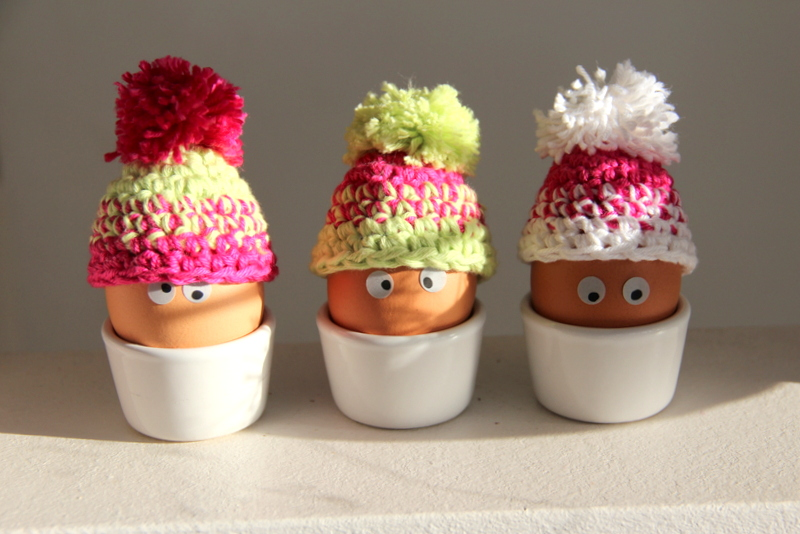 Mtze fr Ei - beanie for egg
