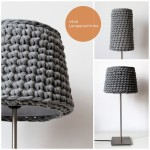 gehäkelte Lampenschirme - crocheted lamp shades