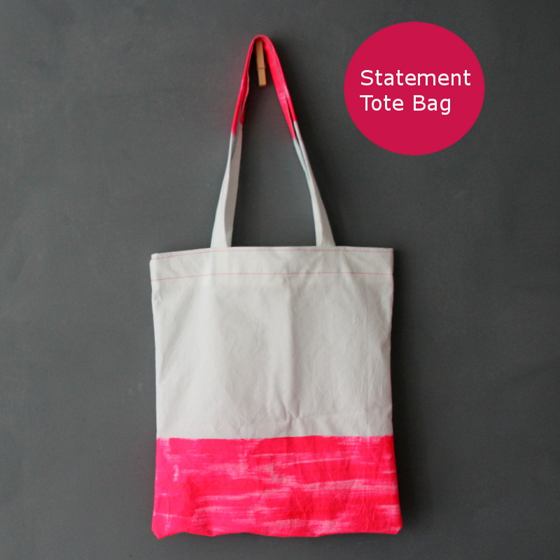 statement Tasche - statement tote bag tutorial 2
