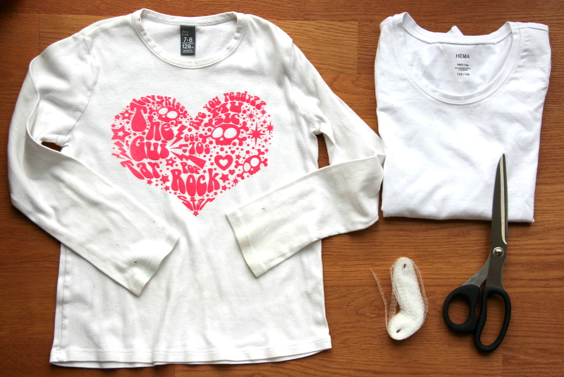 Material für T-Shirt Upcycling