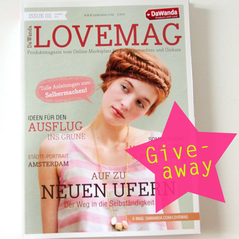 LoveMag DaWanda give-away