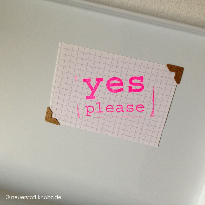 yes please Stempel