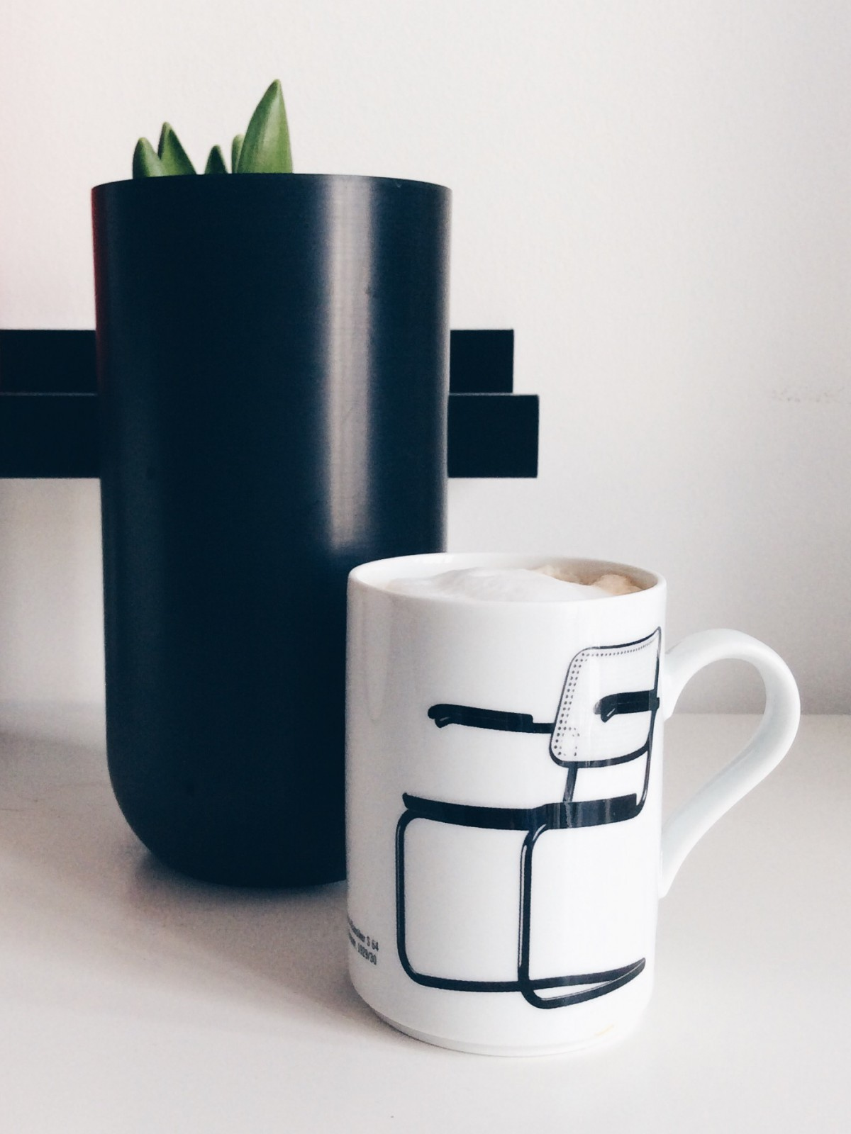 Plants & Coffee - thronet Tasse