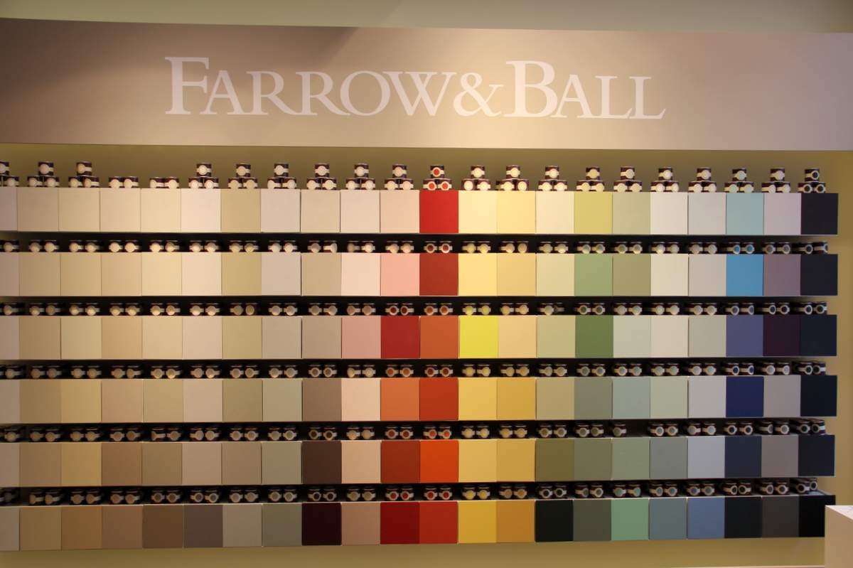 Farrow and Ball Farbtafeln