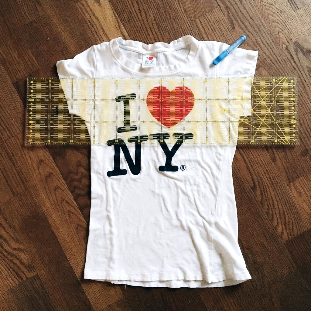 T-Shirt Upcycling Anleitung