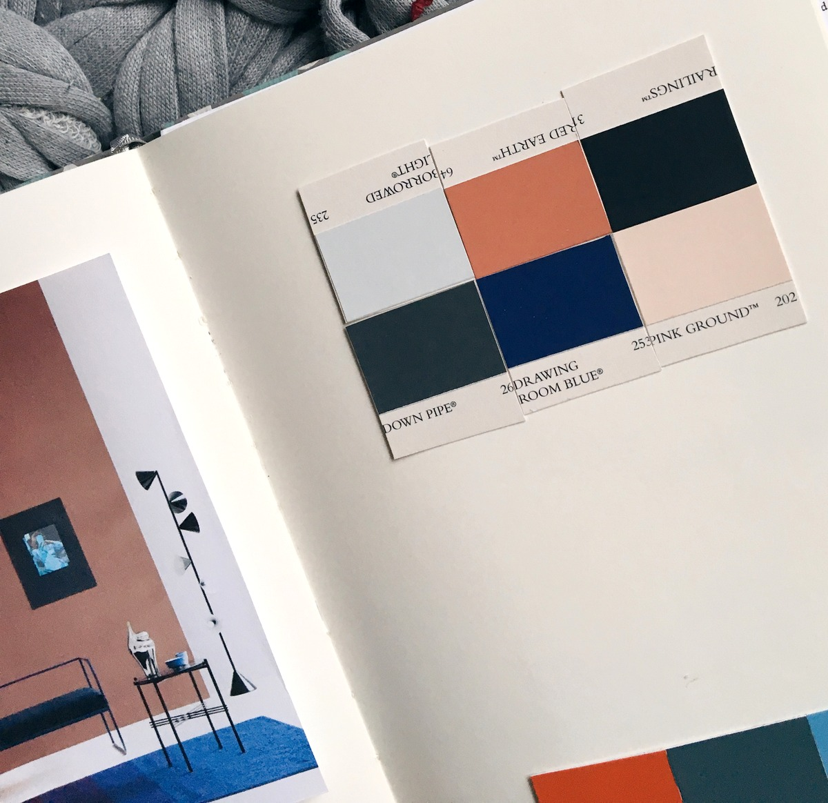 Colour Consultant Farrow & Ball - Farbkombinationen